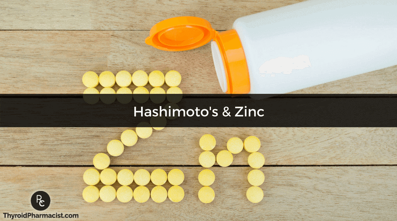 Nutrient Depletions In Hashimoto's V: Zinc