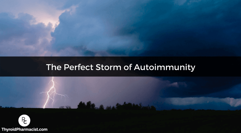 Reversing Autoimmunity and the Perfect Storm