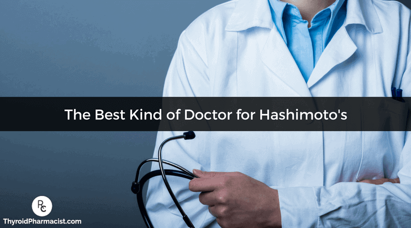 What Type of Doctor Should You See If You Have Hashimoto's?