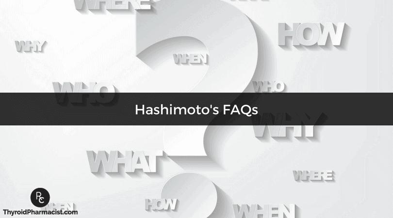 Hashimoto's FAQ's