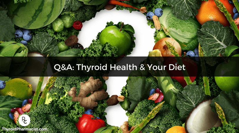 Your diet can play a huge role in your thyroid health.