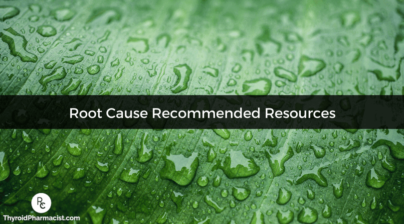Root Cause Recommended Resources