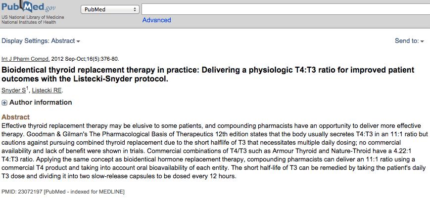 The Listecki Snyder Thyroid Protocol Dr Izabella Wentz
