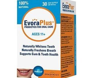 EvoraPlus Probiotics For Oral Care 30 ea