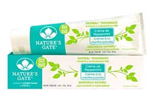 Nature's Gate Natural Toothpaste,