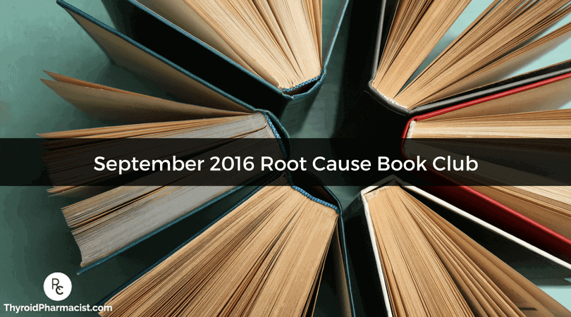 September 2016 Book Club