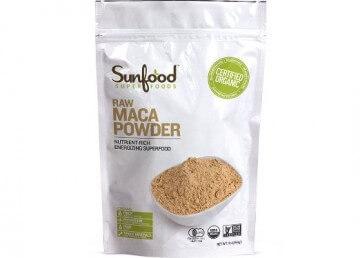 Sunfood Maca Powder, Certified Organic, Non-GMO Verified, Vegan, Raw, 1lb