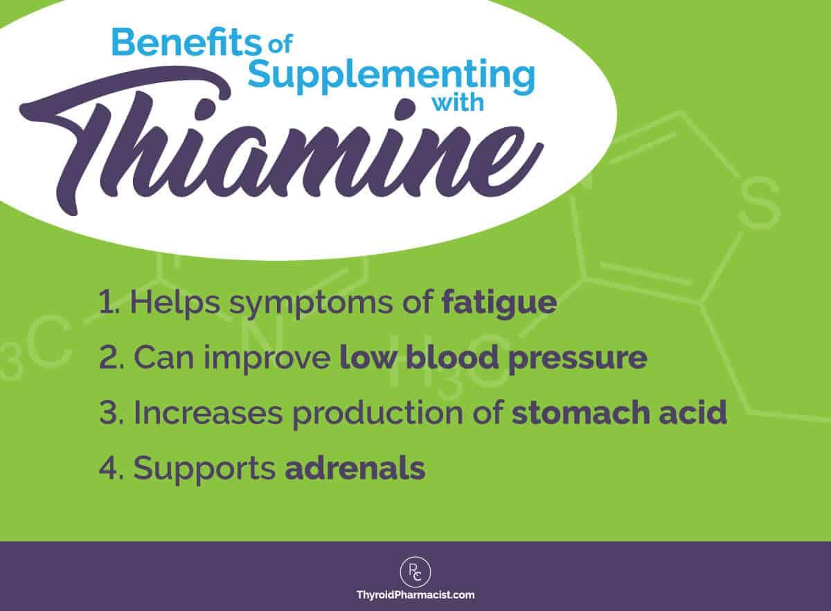 Thiamine Benefits