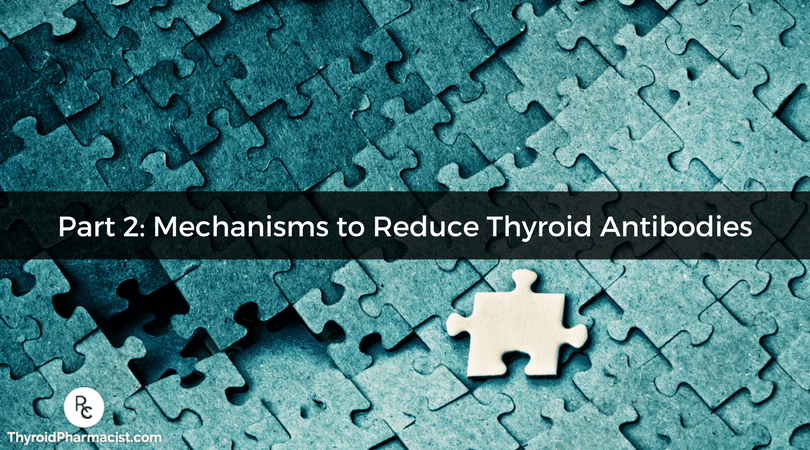 Thyroid Antibodies Part 2: Mechanisms to Reduce Thyroid Antibodies