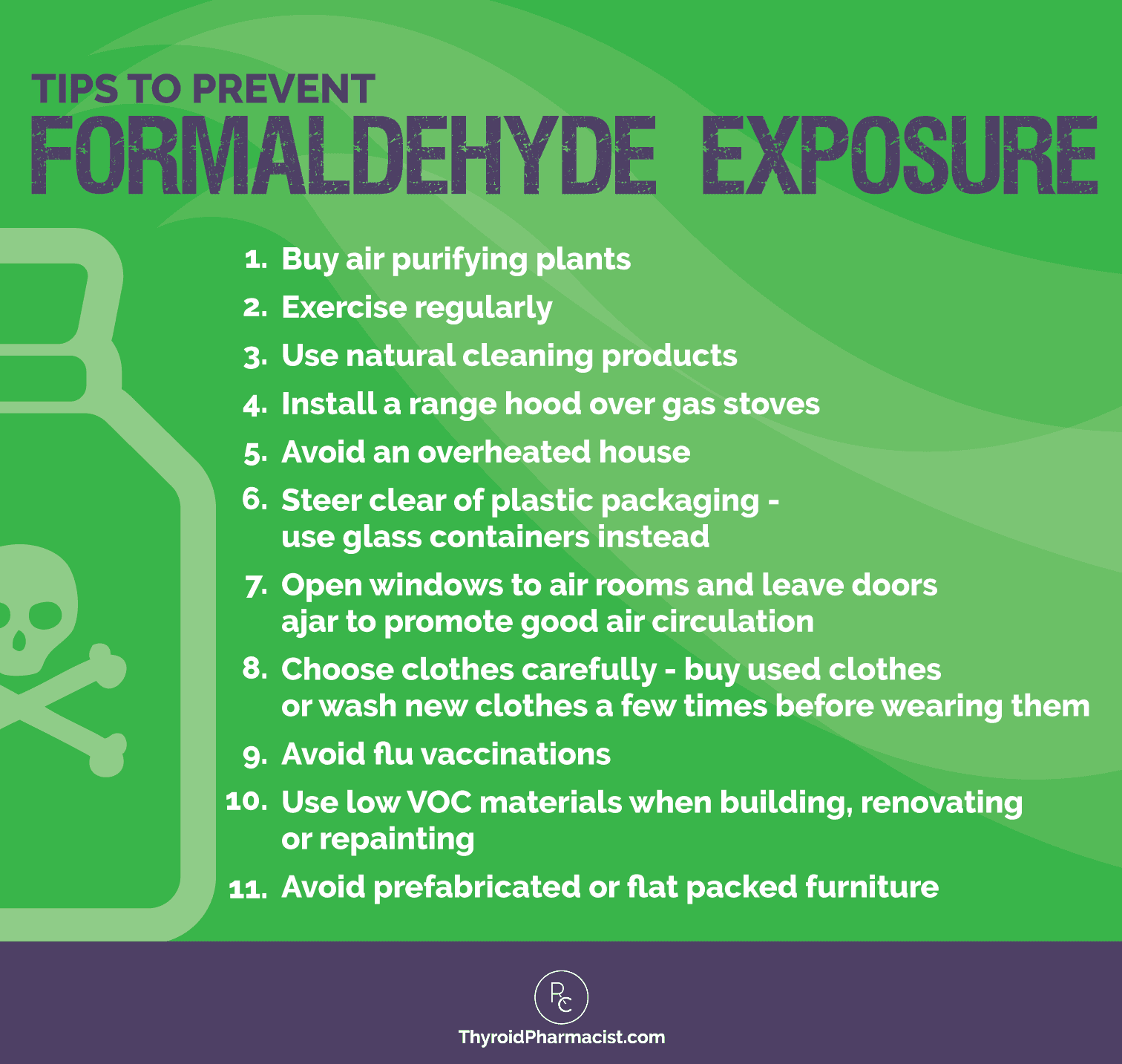 Prevent Formaldehyde Exposure