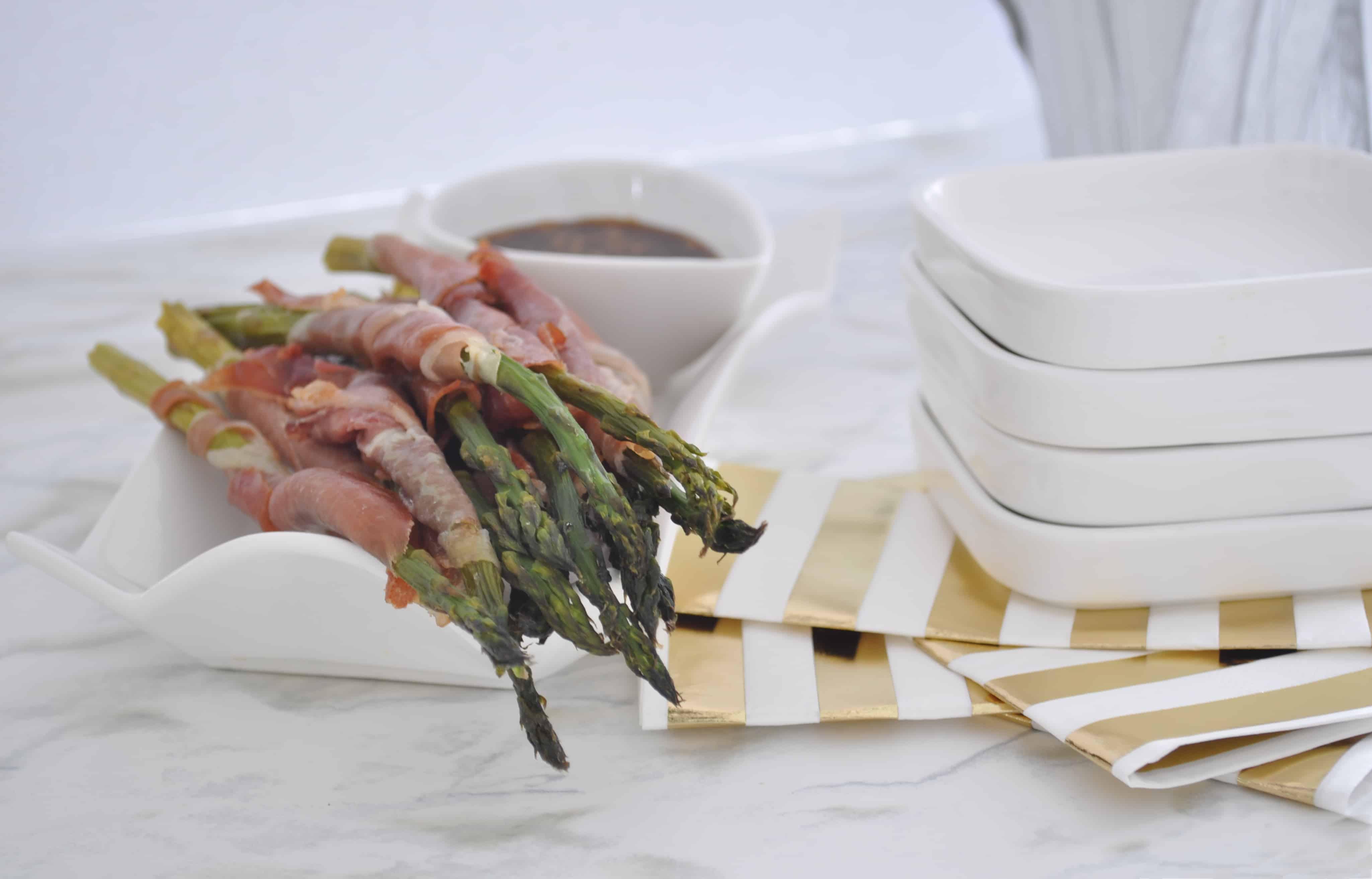 Prosciutto Wrapped Asaparagus