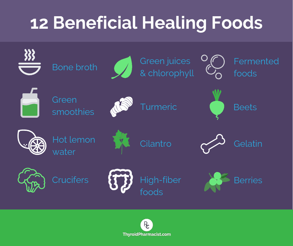 12 Beneficial Healing Foods