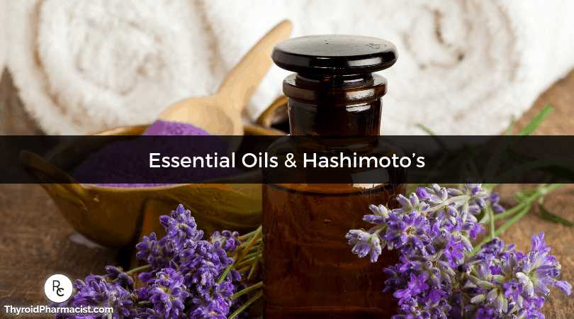 Using Essential Oils to Combat Stress and Balance Thyroid Hormones