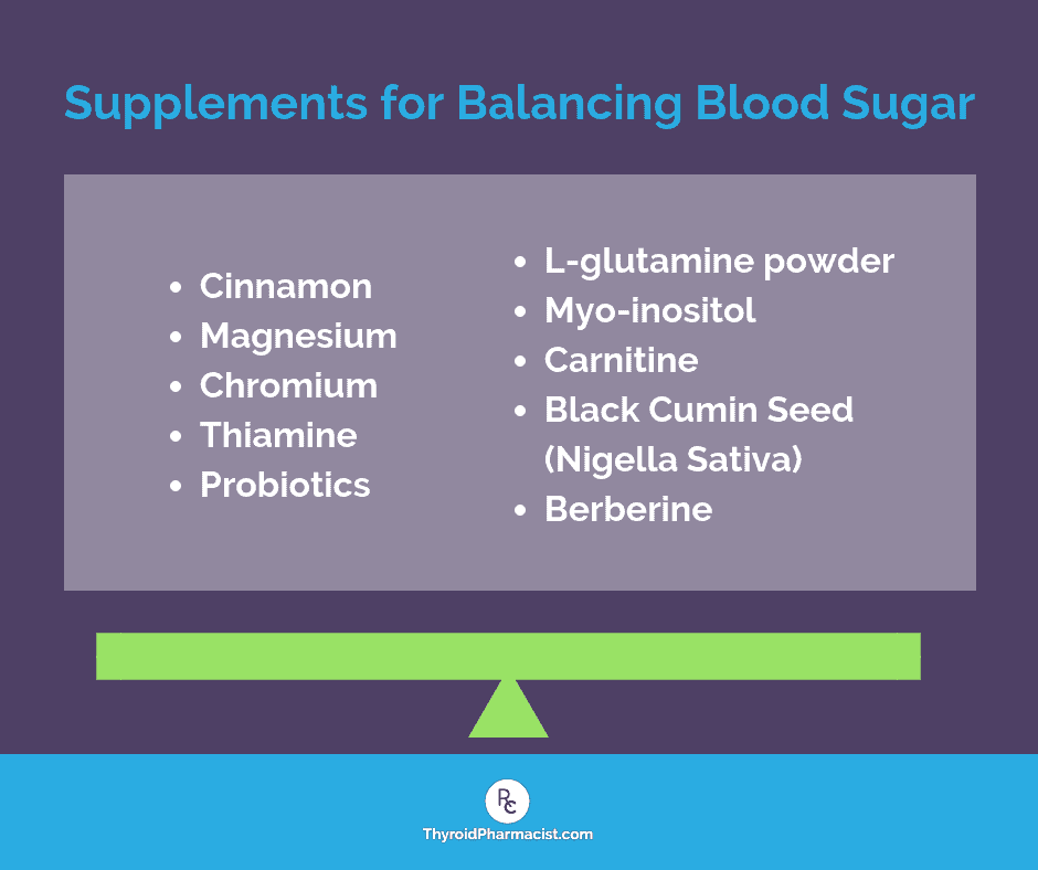Supplements for Balancing Blood Sugar