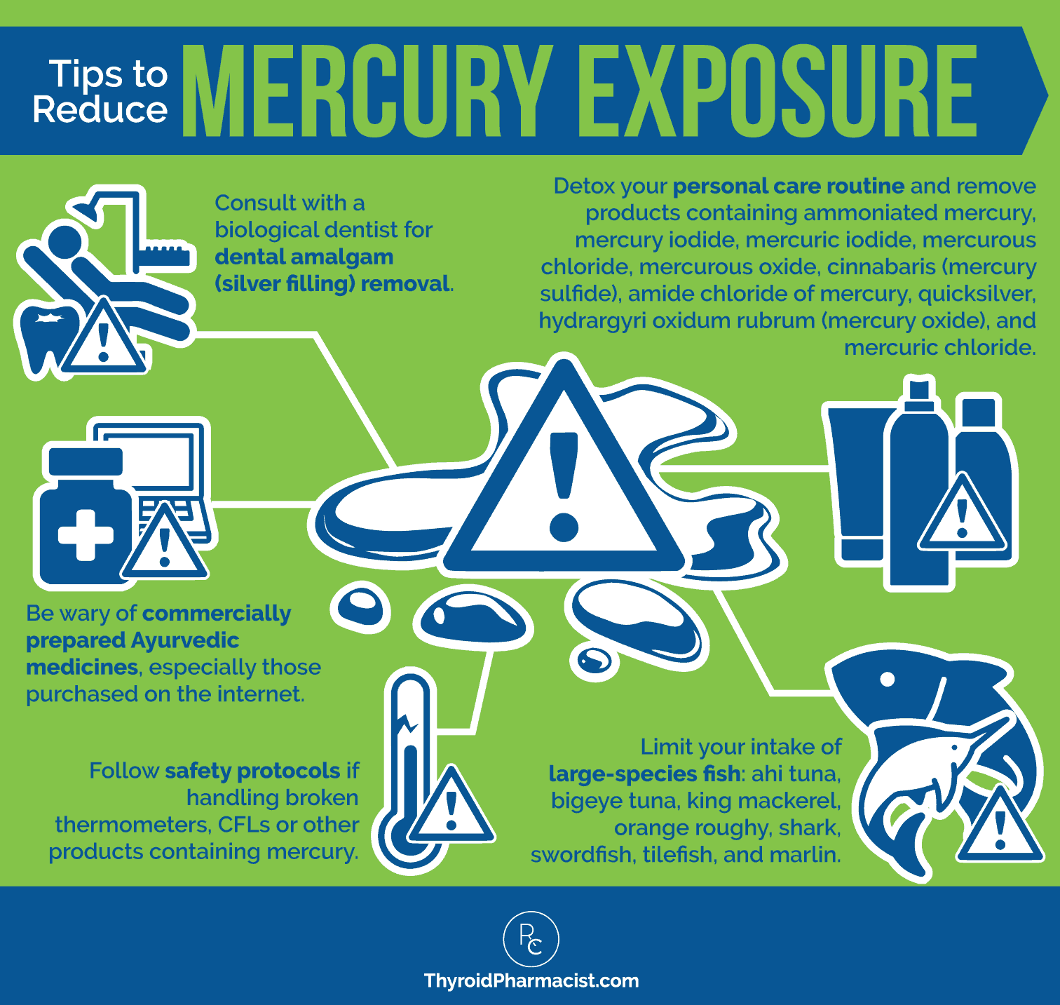 Mercury Exposure Infographic