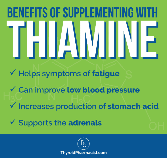 The Benefits of Thiamine Supplements
