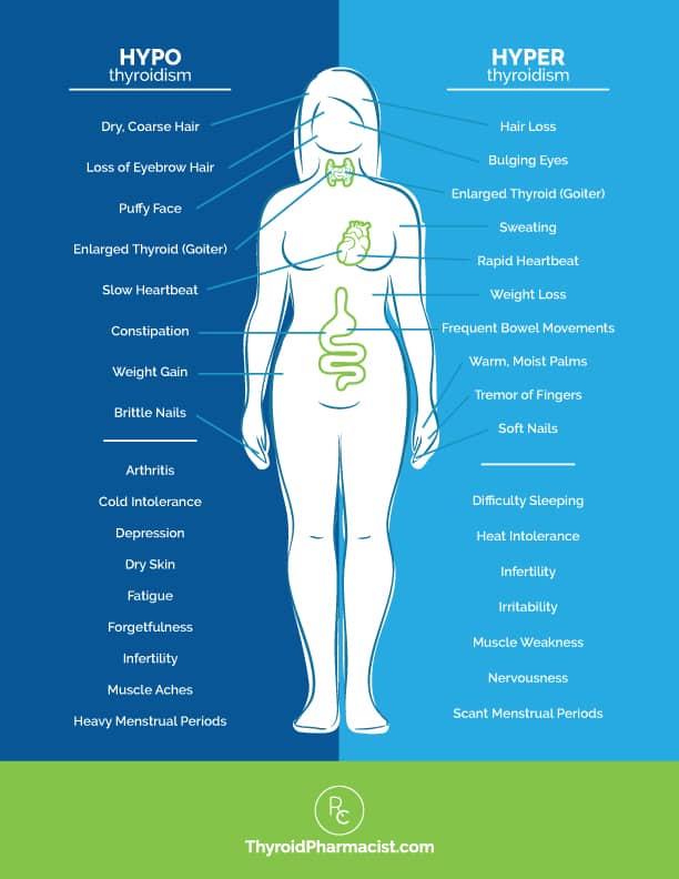 The Many Symptoms Of Hashimoto S Dr Izabella Wentz