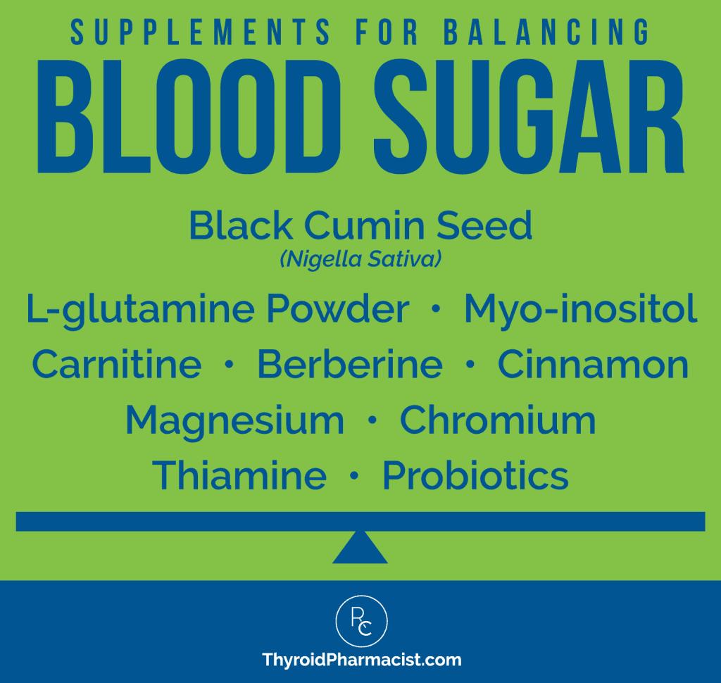 Blood Sugar Balancing Supplements