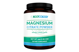 Rootcology Magnesium Citrate Supplement