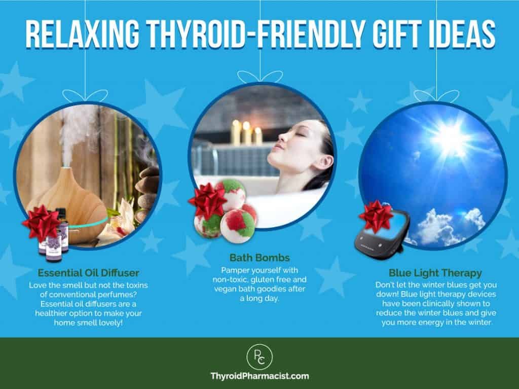 Relaxing Thyroid Friendly Gifts Infographic